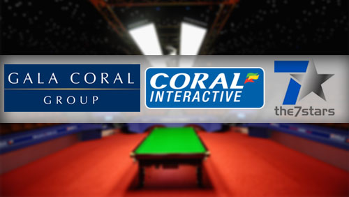 Coral scooped 2014 World Snooker UK Championship sponsorship; awarded 7stars its media account