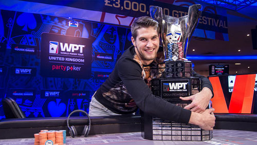 Matas Cimbolas Wins partypoker WPT UK Main Event