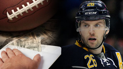 Thomas Vanek reportedly targeted for extortion by gambling ring