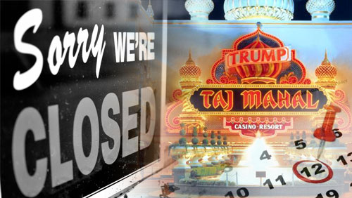 Trump Taj Mahal to officially close on Dec. 12