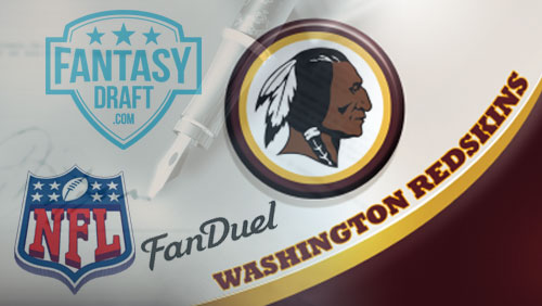 Washington Redskins inks deal with FanDuel; startup FantasyDraft signs endorsement deals with two NFL receivers