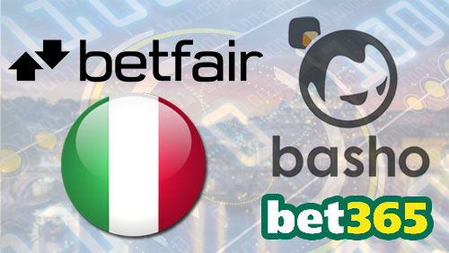 Betfair catches up in Italian market in 2015; bet365 partners with Basho