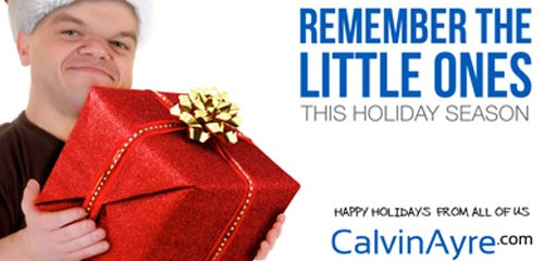 Happy Holidays From All of Us at CalvinAyre.com