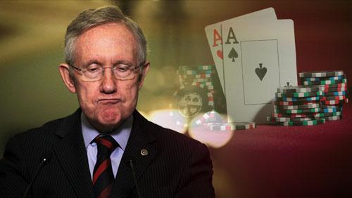 "Harry Reid: ""Poker Alone is Not Going to Work"""