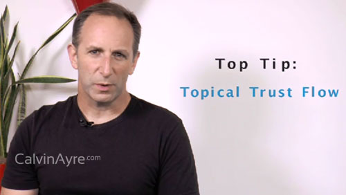 SEO Tip of the Week: Topical Trust Flow