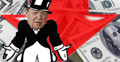Sheldon Adelson's net worth drops $10.8b in 2014