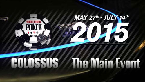 The WSOP Unveil the $5m Guaranteed Colossus