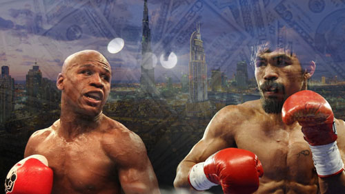 UAE group offers $200 million total purse for Mayweather-Pacquiao
