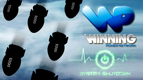 Winning Poker Network Shuts Down Its $1m Guarantee Tournament After DDoS Attack