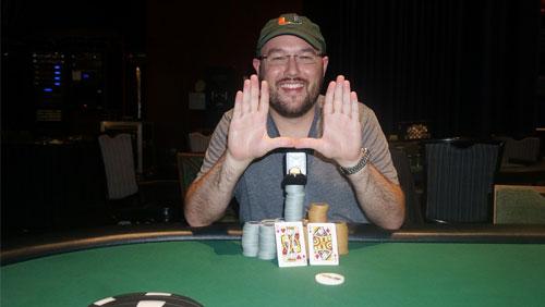 WSOP APAC Main Event Winner Scott Davies Wins More Gold at Cherokee
