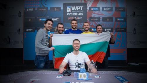 Atanas Kavrakov Triumphant at partypoker WPT National Cyprus