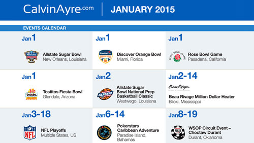 CalvinAyre.com Featured Conferences & Events: January 2015