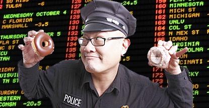 Montreal police gambling