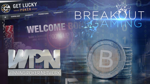 GetLuckyPoker Opens in Beta Mode; Winning Poker Network Pays Out in Bitcoin and Breakout Gaming Doesn't Breakout
