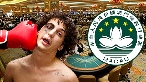 Macau casinos record first annual decline