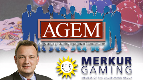 Merkur Gaming appoints new CEO; AGEM announces new officials