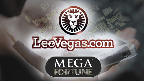 Player lands Mega Fortune of 53m SEK on LeoVegas Mobile