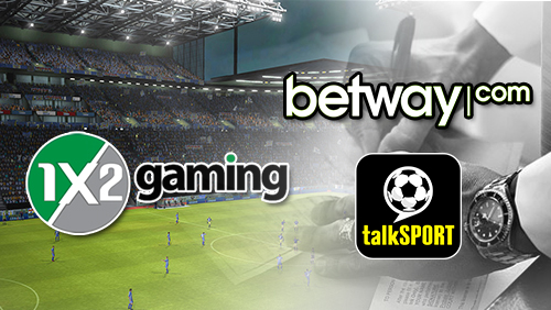 1x2 gaming launches sports casino game; Betway links up with talkSport radio