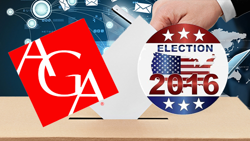 American Gaming Association unveils a national initiative for 2016 presidential election