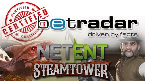 Betradar launches User Certification Program; NetEnt introduces new video slot title