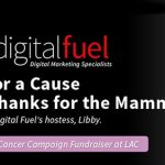 """Digital Fuel's """"Flirt for a Cause – Give Thanks for the Mammaries"""": Breast Cancer Fundraiser at LAC"""