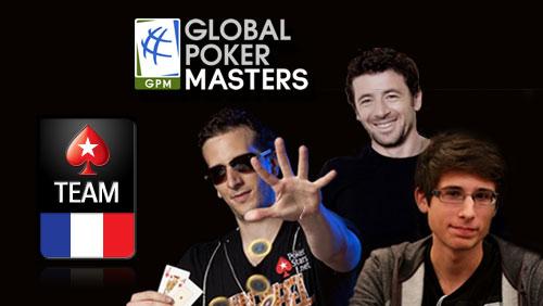 Global Poker Masters: Elky, Bruel and Tedeschi Join #TeamFrance