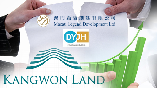 Macau Legend/Dynam Holdings talks fizzle out; Kangwon Land 4Q 2014 results
