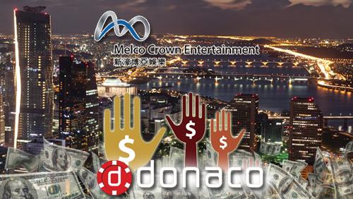 Melco Crown has no South Korea plans; Donaco plans shares sale