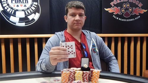 Sam Panzica Wins his Fourth WSOPC Gold Ring