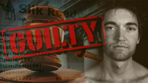 Silk Road Creator Found Guilty on All Charges
