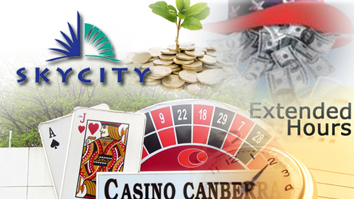 SkyCity drops public funding; Casino Canberra extends hours