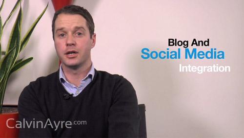 Social Media Tip of the Week: Blog & social media integration