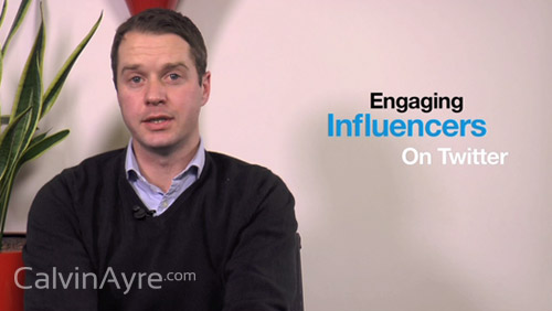 Social Media Tip of the Week: Engaging Influencers on Twitter