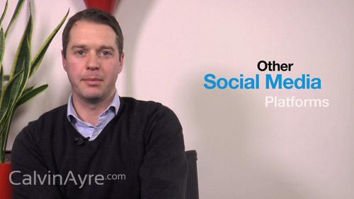 Social Media Tip of the Week: Other social platforms