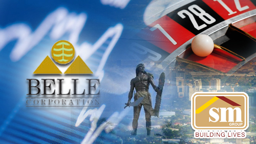 Belle Corp income; SM Group slows roll on Cebu casino talk