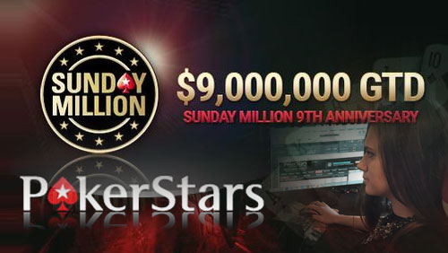 "Brayden 'BRAYDEN93"" Fritzhall Wins the Sunday Million 9th Anniversary Special and Liliya 'Liay5' Novikova Joins Team Online"