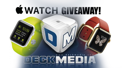 DeckMedia Affiliates Get Their Running Gear on for Apple Watch Sport Giveaway