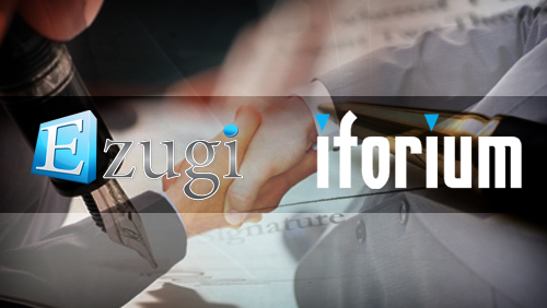 Ezugi Signs Live Casino Distribution deal with Iforium