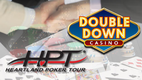 Heartland Poker Tour Ink Deal With DoubleDown Casino