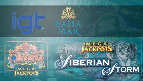 IGT deals with Baha Mar, launches MegaJackpots titles