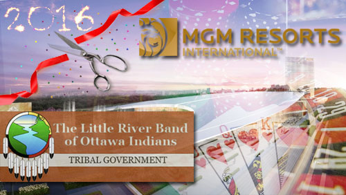MGM's Maryland casino on track for 2016 opening; Ottawa tribe pushing for raceway to become casino