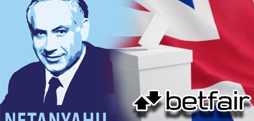 Netanyahu heavily favored to remain Israel PM; Betfair joins in on UK election craziness
