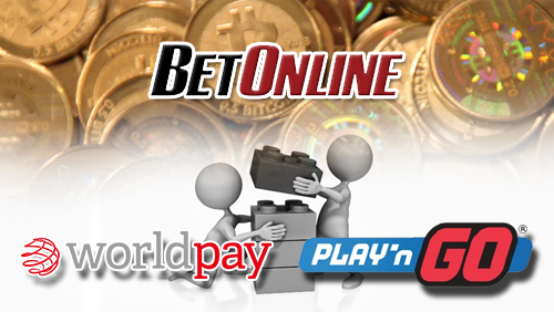 Play 'n GO integrates with Worldpay; BetOnline now accepts Bitcoin