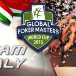 Team Italy Win the Global Poker Masters