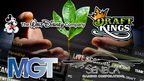 Walt Disney eyes venture with DraftKings; MGT and Seneca Gaming to launch daily fantasy sports site