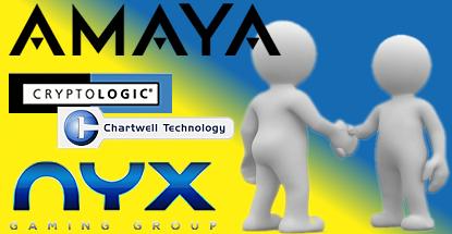 amaya-nyx-cryptologic-chartwell-software-deal