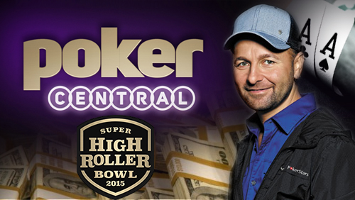 Daniel Negreanu Joins The Poker Central Team and Declares His Intent to Play in the $500k Super High Roller Bowl