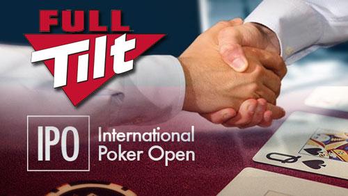 Full Tilt to Sponsor the International Poker Open