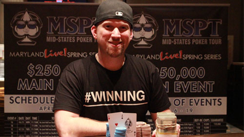 Greg Himmelbrand Wins the MSPT Main Event at Maryland Live!