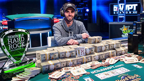 Griffin Paul Wins the WPT Seminole Hard Rock Poker Showdown